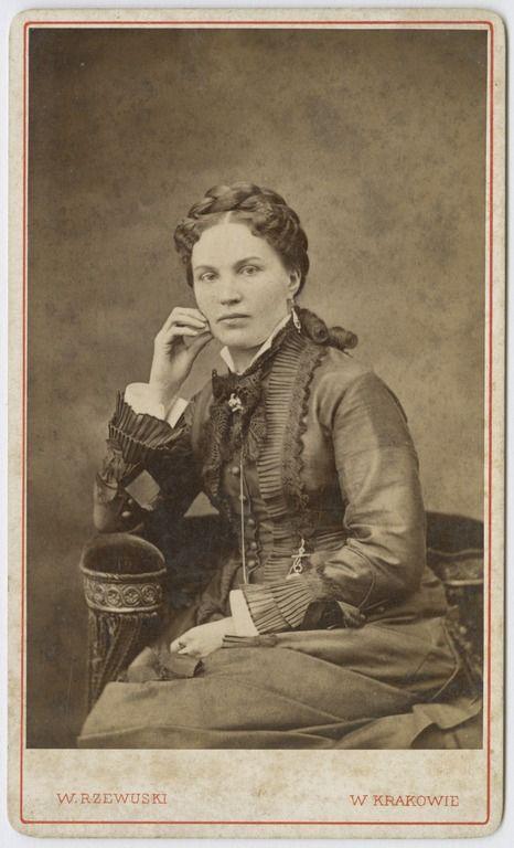 Walery Rzewuski, Maria z Wolnickich Możdżyńska