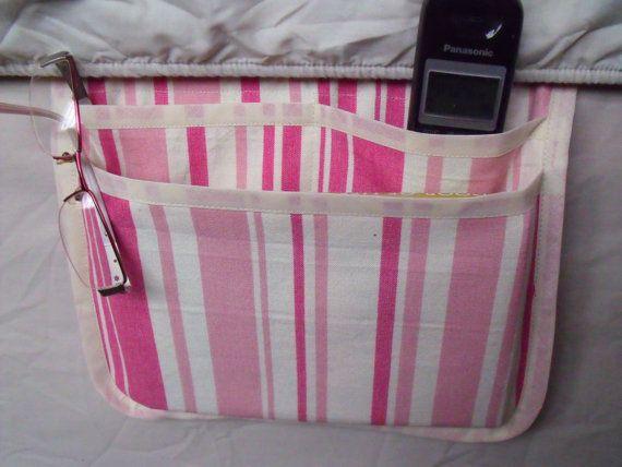 bed pocket bed caddy storage organizer bed by FingerPrickingGood