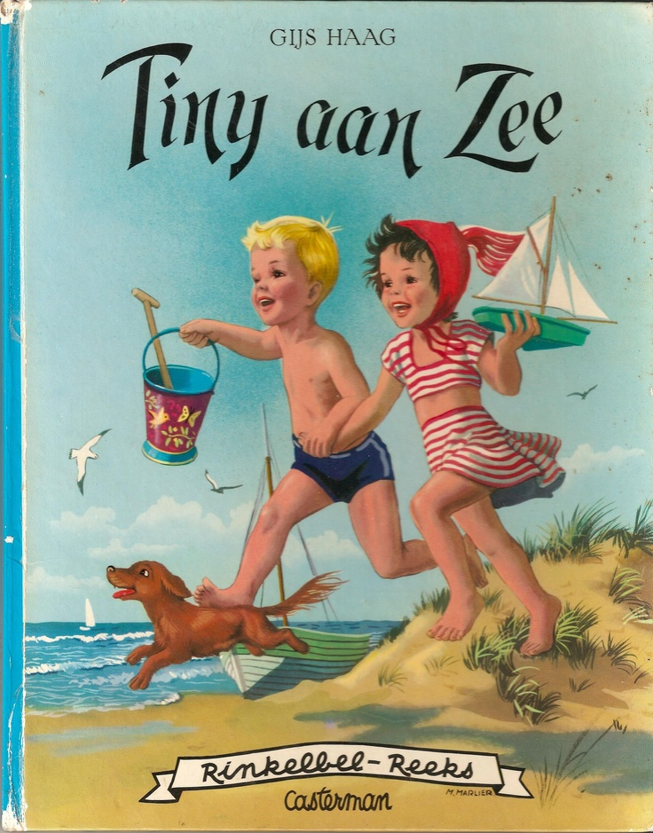 Tiny aan zee (Dutch edition of Martine - illustrated by the Belgian Marcel Marlier) - from my own collection