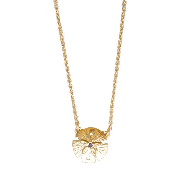 Spartina 449 Sea La Vie Sand Dollar Necklace