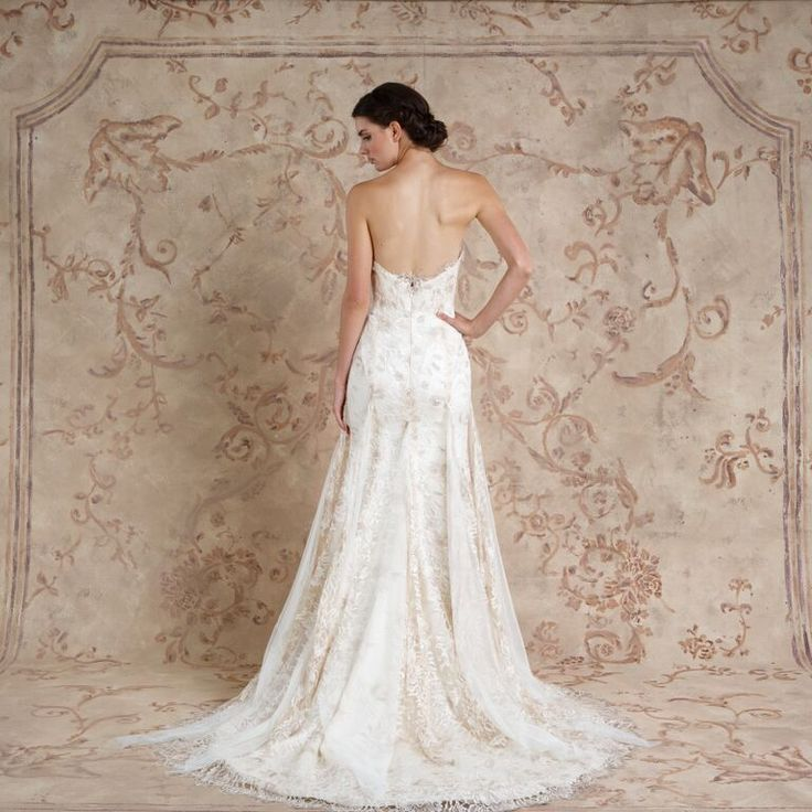 Tala #weddingdress from Sareh Nouri fall 2016 wedding dresses   itakeyou.co.uk:
