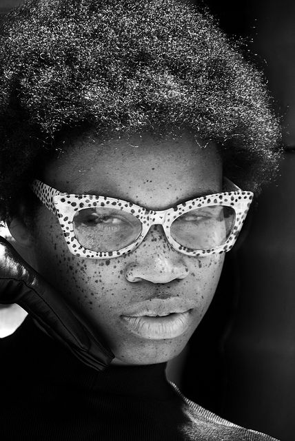 Freckled spectacled face. #photography #faces