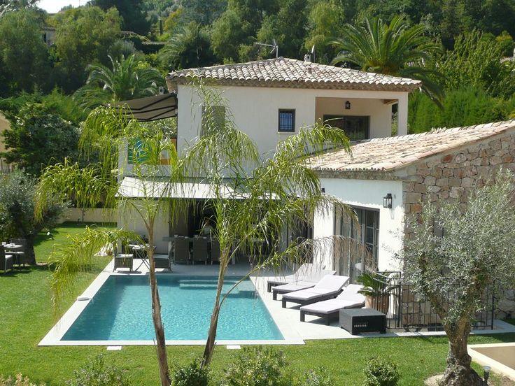 Villa crete avec piscine deco mediterranean Pinterest