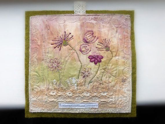 62 best Small Art Quilts images on Pinterest | Textile art ...