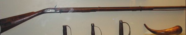 """""""Sweet Lips"""" - flintlock rifle belonging to Robert Young and used by him to kill British Major Patrick Ferguson at the Battle of King's Mountain, October 7, 1780."""