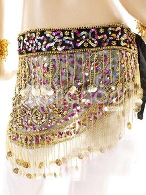 Beautiful Net Beads Belly Dance Dress