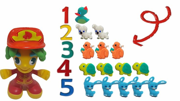 Playset | playdoh town | counting | part 2
