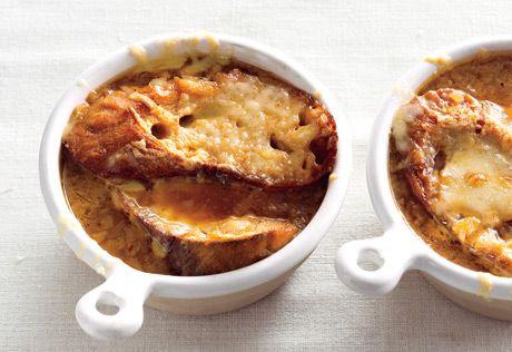 French Onion Soup Recipe   Epicurious.com