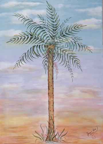 Quickly And Easily Create A Tropical Paradise In Your Home With Our Palm Tree Painting Stencil Decor Pinterest Paintings