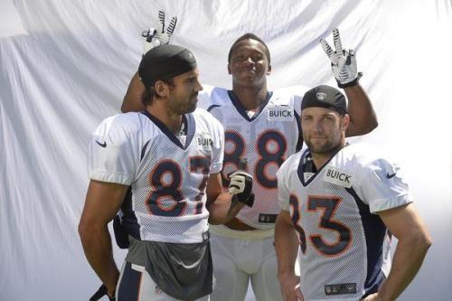 Denver Broncos / NFL - The Denver Post Decker, Thomas, and Welker