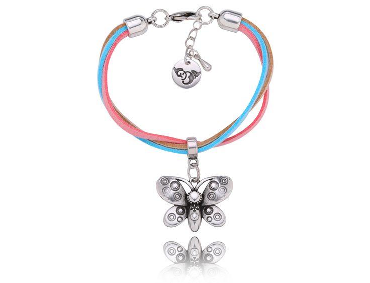 By Dziubeka! #jewelry #Bydziubeka #animal #butterfly #bracelet