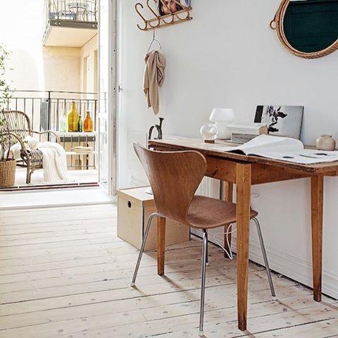 Home workspace #scandinavian