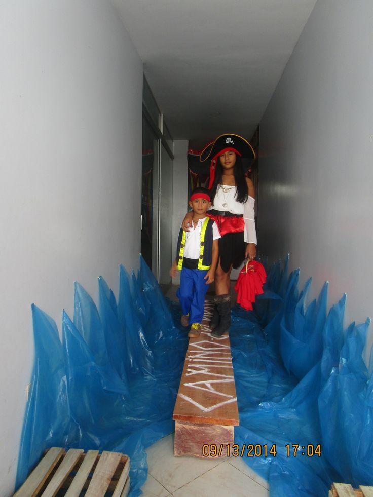 Ingreso al camino del pirata