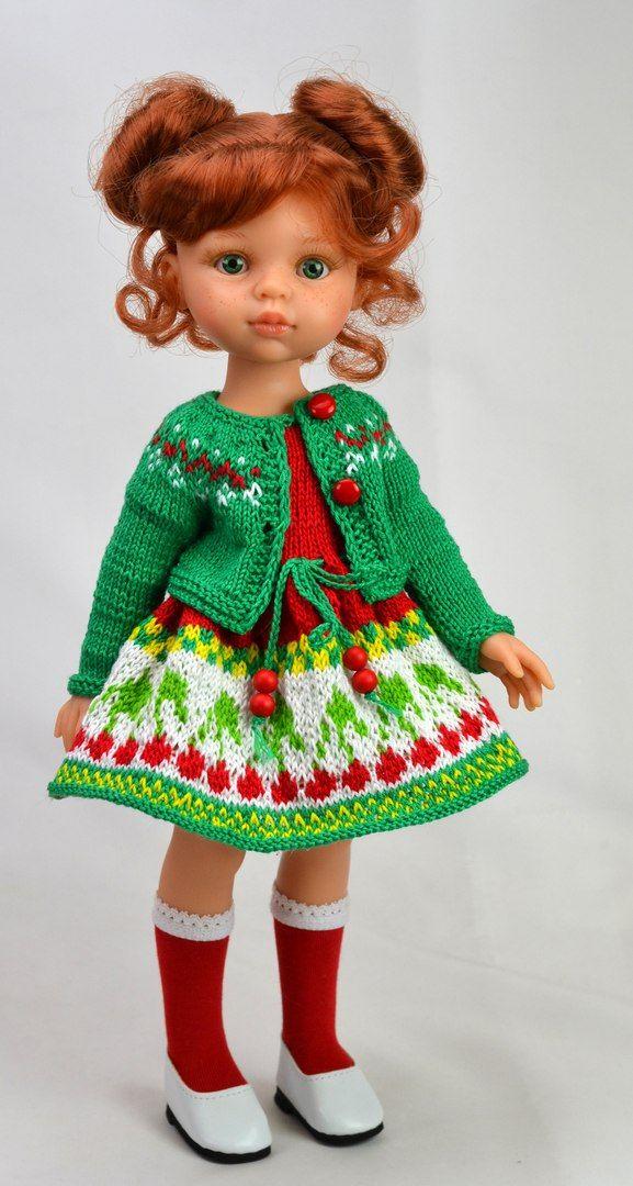 ольга вершинина вязаные наряды для кукол кукольная одежда