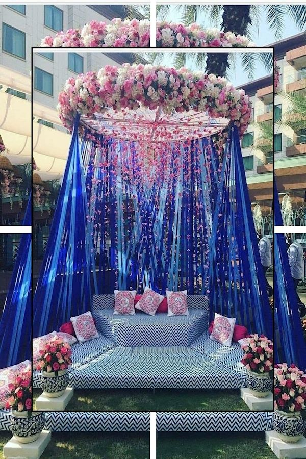 Simple Wedding Decorations For Reception Weddings Pinterest Wedding Decorating Ide In 2020 Mehendi Decor Ideas Indian Wedding Decorations Wedding Decor Inspiration