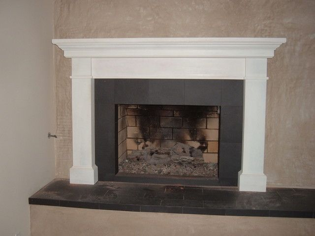 Modern Fireplace Surrounds 16 best images about fireplace mantels on pinterest | slate