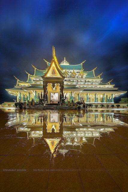 Wat Pa-Phu-Kon. Province Udon Thani , Thailand