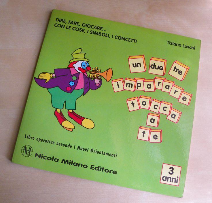 Quaderno operativo per la scuola materna Nicola Milano Editore