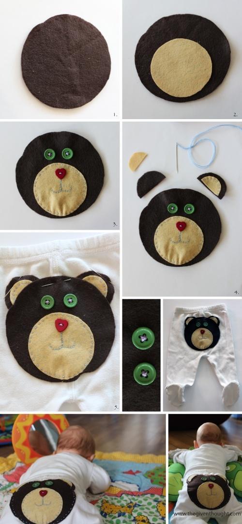 ( tutorial, diy clothes,reciclar , idea, ropa , personalizar ropa, baby, bebé ,kids ,diy , fashion)