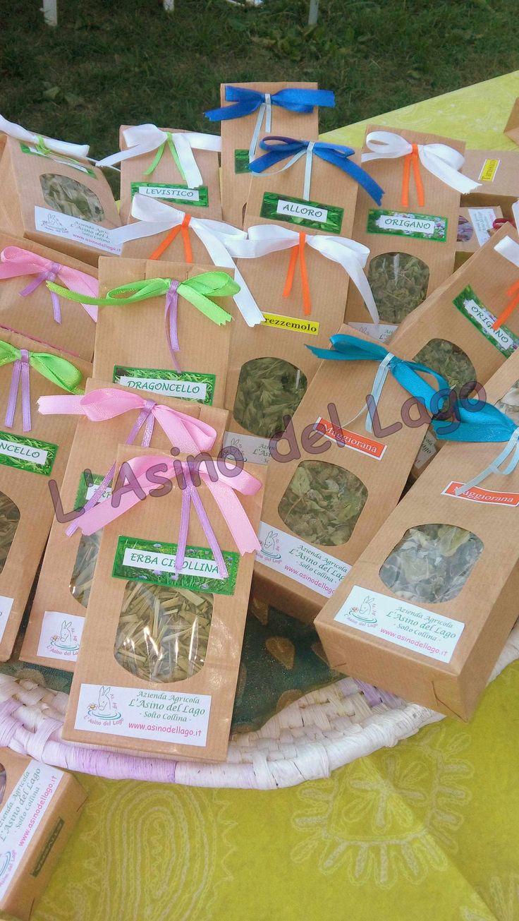 Erbe aromatiche in sacchetto