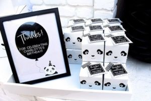 Favor boxes from a Party Like a Panda Birthday Party on Kara's Party Ideas | KarasPartyIdeas.com (37)