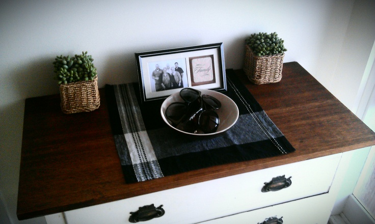 New hallway table