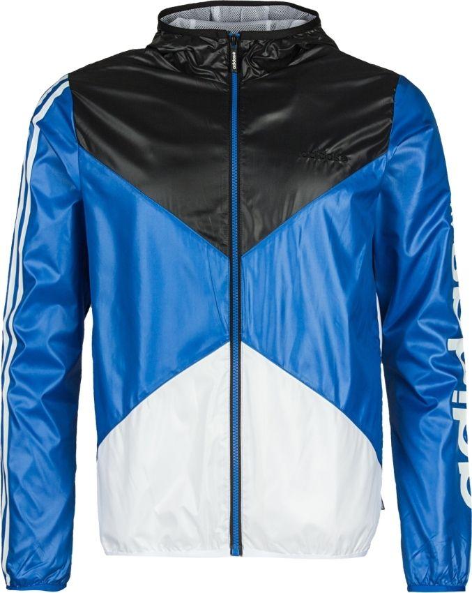 adidas clfn blau jacke