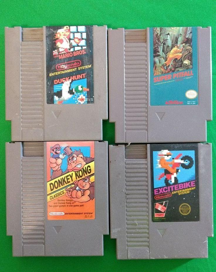 Lot of nintendo nes games..Mario Bros/Duck Hunt..Donkey Kong Classics..28 games!