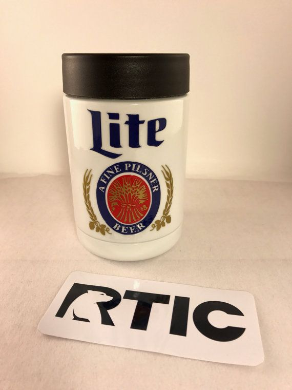 Miller Lite RTIC by PapercutGraphics on Etsy $40