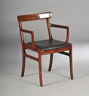Køb og sælg moderne, klassiske og antikke møbler - Ole Wanscher 1903-1985. Rungstedlund stol - DK, Herlev, Dynamovej