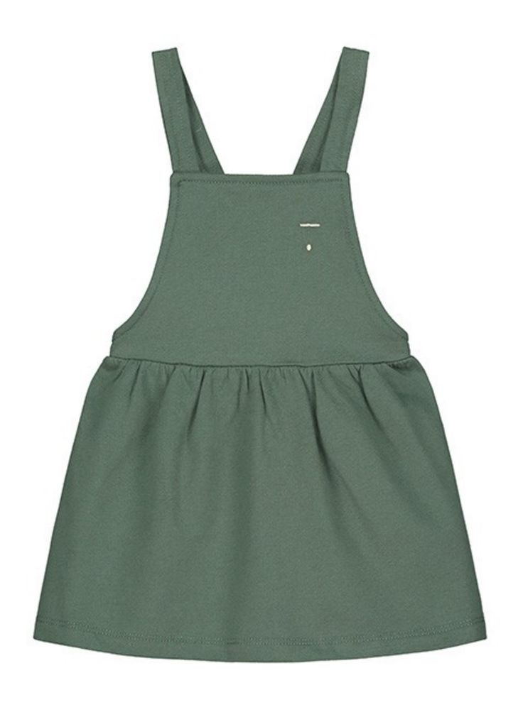 Organic Cotton Pinafore Dress | Gray Label