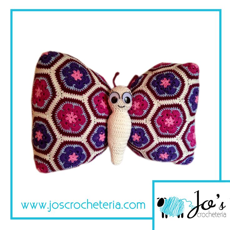 Have you checked out Tess the African Flower Butterfly Crochet Pattern yet? Go and save her in your favorites here  https://www.etsy.com/se-en/listing/154920384/crochet-pattern-tess-the-african-flower?ref=shop_home_active_30 www.joscrocheteria.com #crochetpattern #africanflowercrochetpattern #crochetafricanflowercrochetpattern #africanflowercrochet #crochetpatterns #crochetafricanflowerhexagonpattern #crochetafricanflowerbutterfly #crochetbutterfly