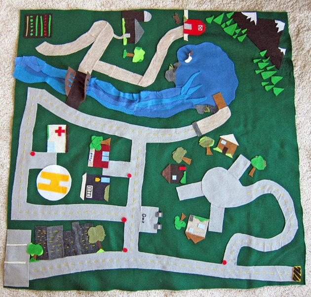 1000+ Images About Felt Play Mats, Sets, Boards, And Books