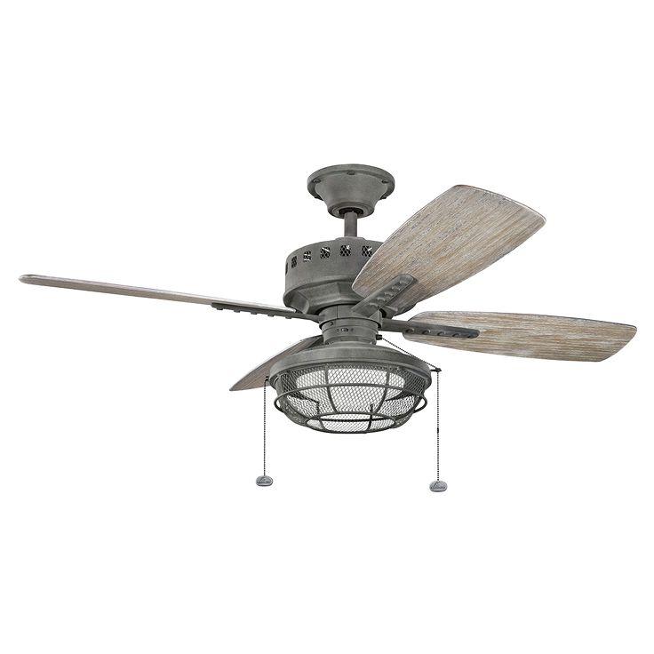 """Eads 52"""" Ceiling Fan - In Weathered Zinc WZC"""