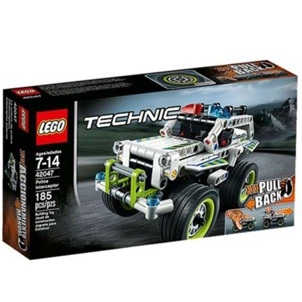 La voiture d'intervention de police LEGO Technic 42047 – La Grande Récré : vente de jouets et jeux LEGO Technic