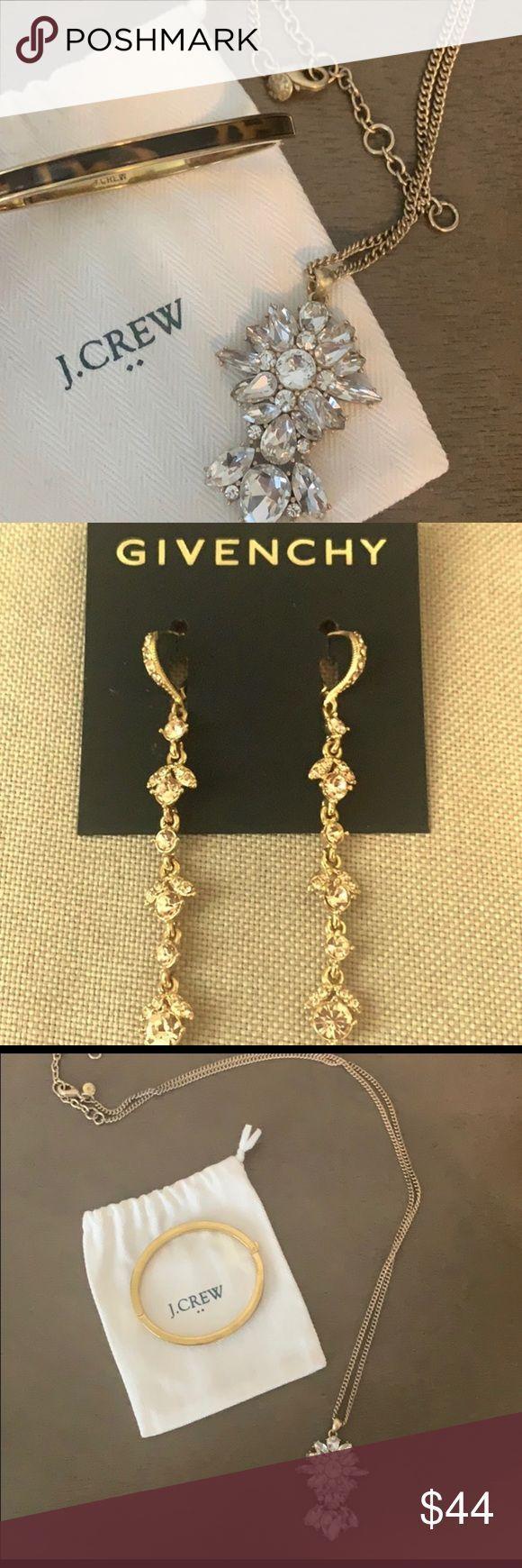 Jewelry bundle, Givenchy, NWT, and J. crew Offering major savings, J. Crew antiq…,  #antiq …