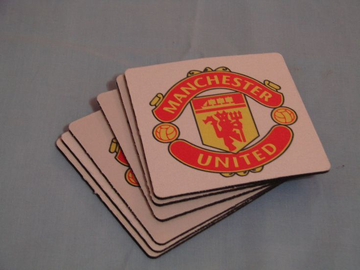 Rubber coasters with your own designs.