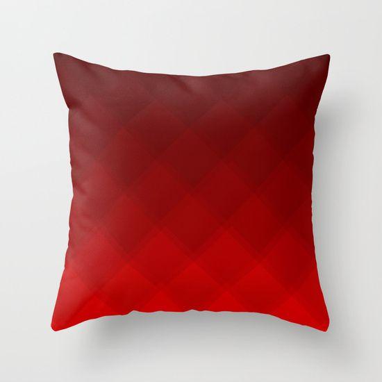 Cherry Tile pattern pillow