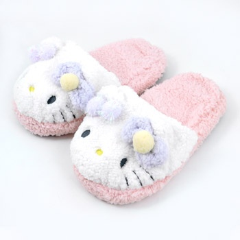 Hello Kitty Indoor Slipper: Purple
