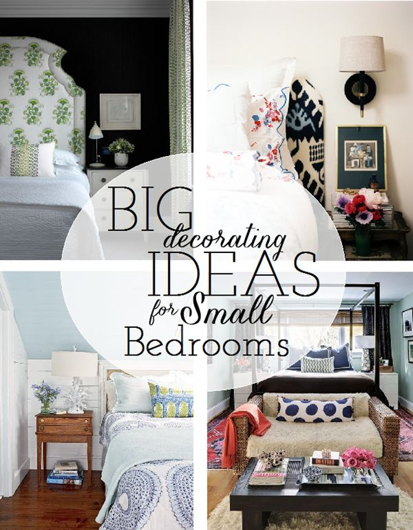 Tiny Bedroom Decor: 17 Best Ideas About Decorating Small Bedrooms On Pinterest