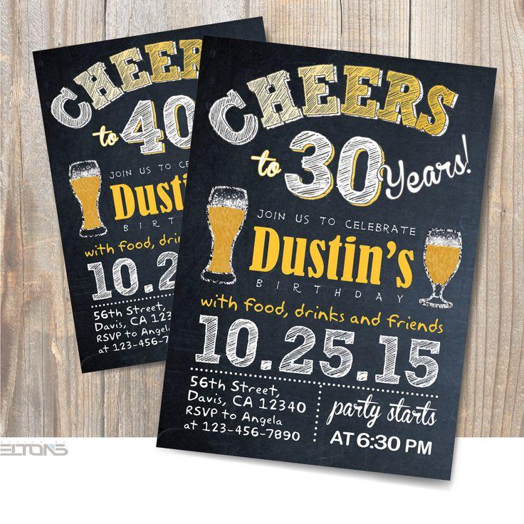 best 25+ 60th birthday invitations ideas on pinterest   70th, Birthday invitations