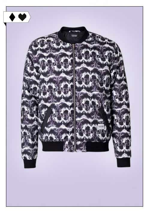Dogs Bomberjacket (A Question Of): 100% Polyester. Fair hergestellt in China. ECO/SOCIAL/ *160€*