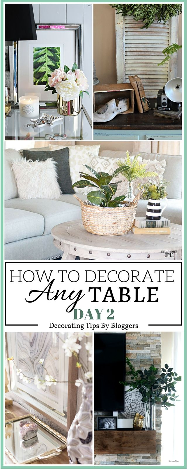 Learn about 5 must have decor items to make any end table perfectly styled, curated and functional via monicawantsit.com