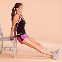 Get Toned Arms and Shoulders: 6. Seated Dip