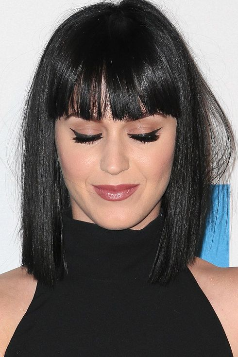 Katy Perry | These 17 Celebs Prove That Bangs Can Change Your Entire Face