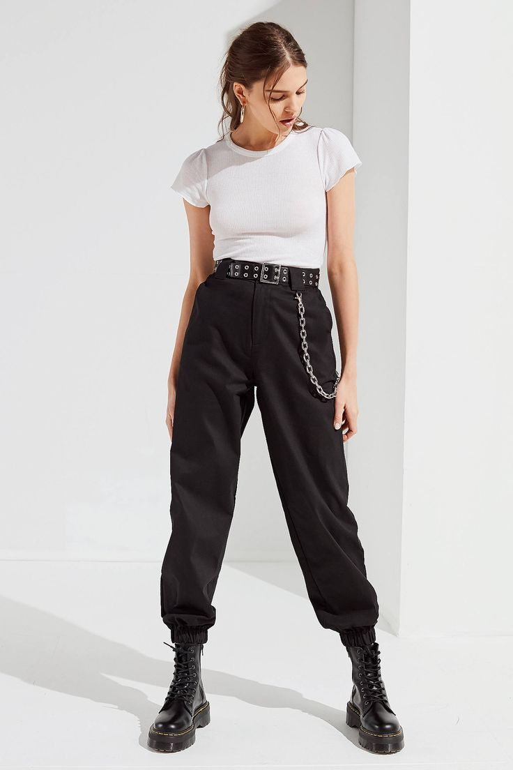 I.AM.GIA Cobain Relaxed-Fit-Kettenhose
