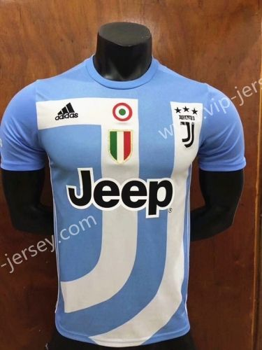 cb545536fd9 2018-19 Juventus Commemorative Edition Blue Thailand Soccer Jersey AAA-407