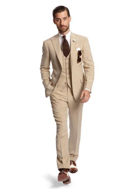 Ralph Lauren Purple Label / Costume / Lunettes / Pochette / Cravate / Chemise / Revers / Chaussures