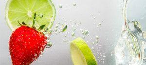 Agua antioxidante