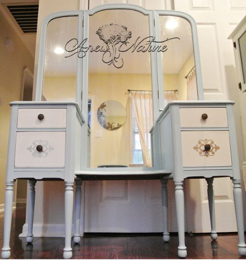Upcycle By Anew Nature Shabby Chic Vanity